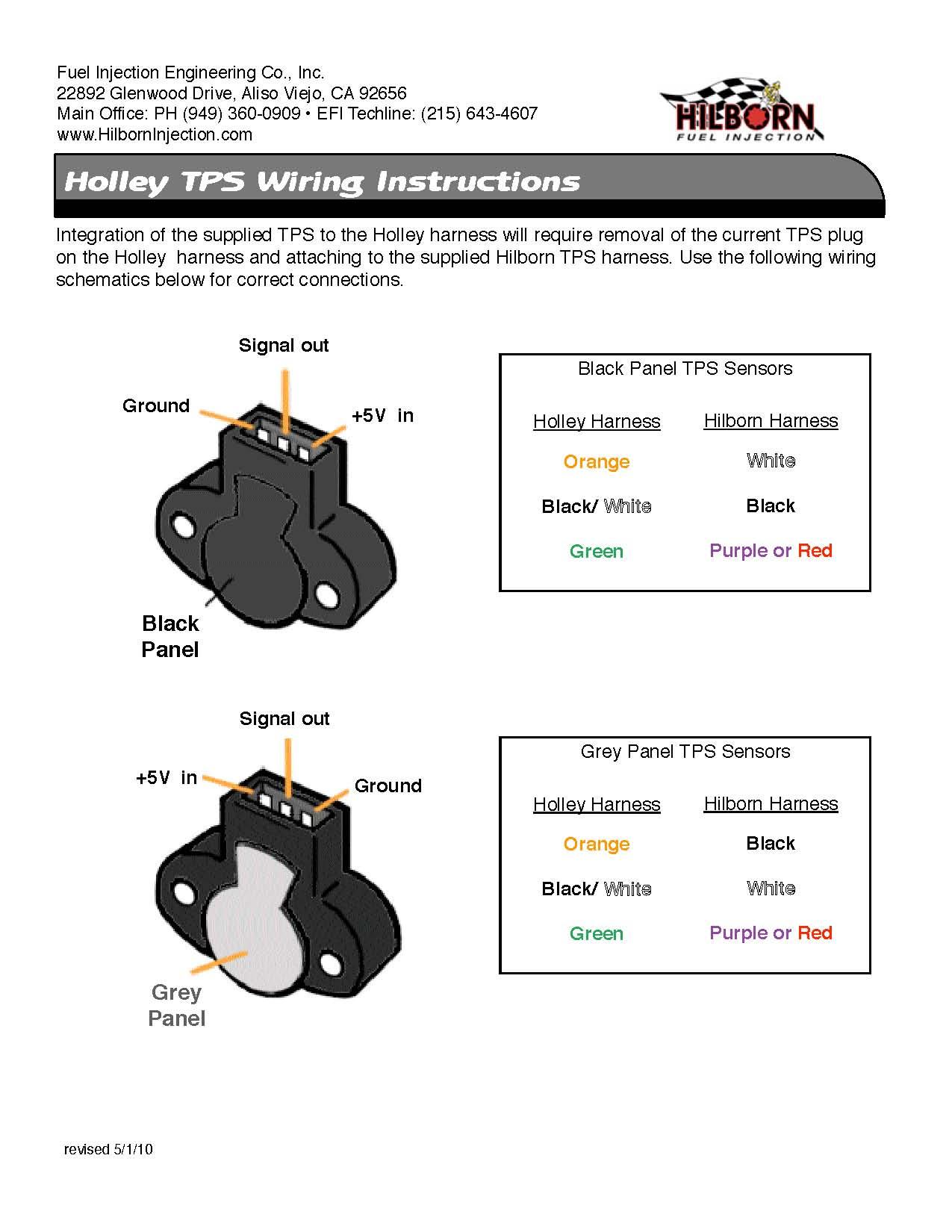 Hh 1529  Throttle Position Sensor Wiring Diagram