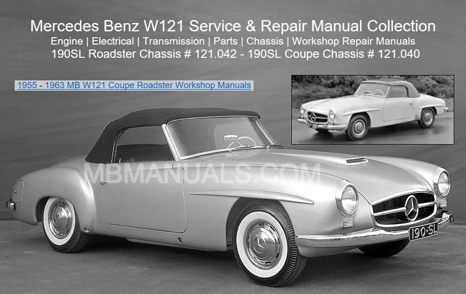 Tremendous Mercedes Benz 121 W121 Service Repair Manuals Wiring Cloud Timewinrebemohammedshrineorg
