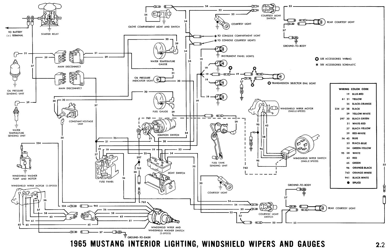 Awe Inspiring 66 Mustang Exterior Wiring Diagram Online Wiring Diagram Wiring Cloud Overrenstrafr09Org