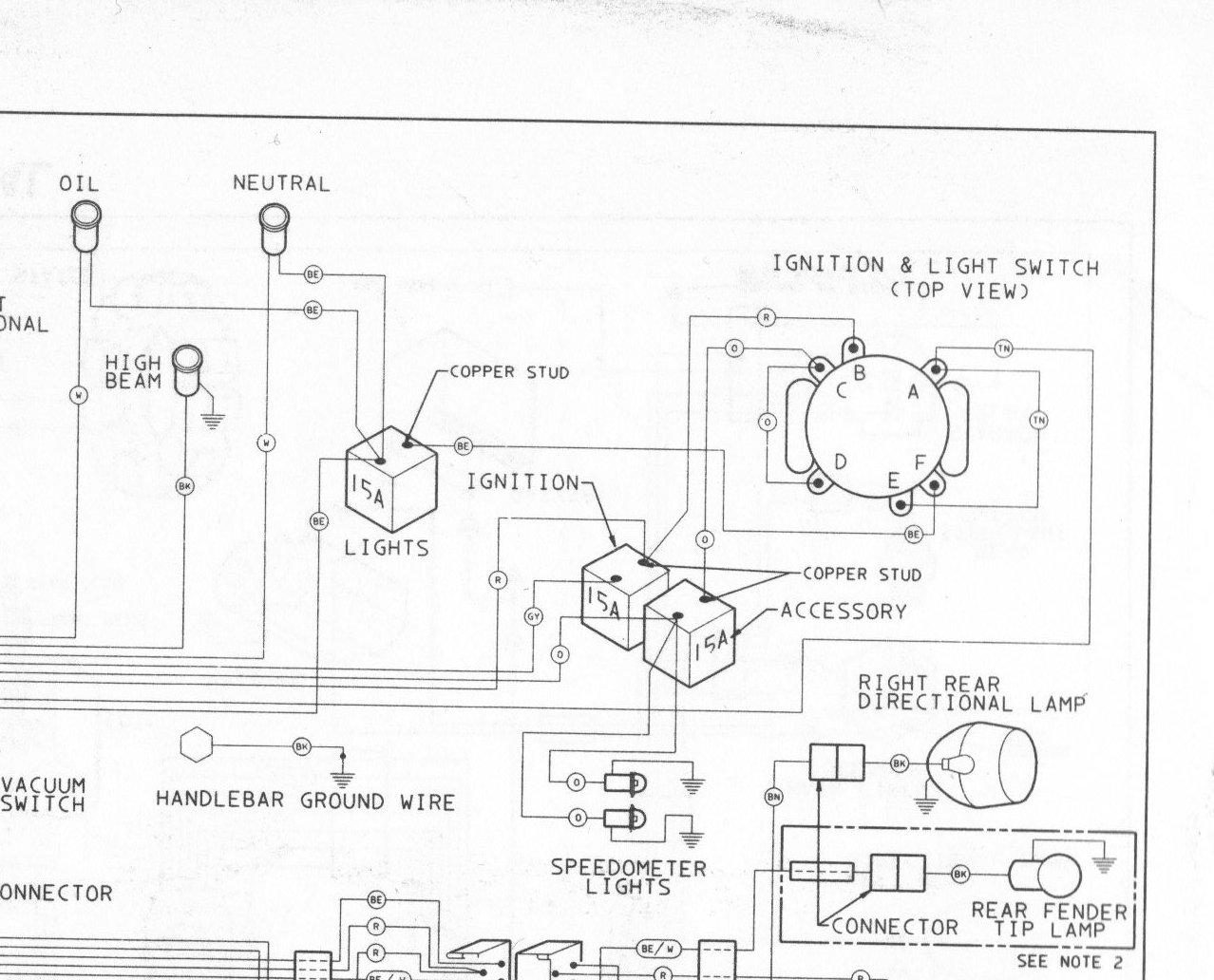 2007 Harley Davidson Sportster 1200 Wiring Diagram