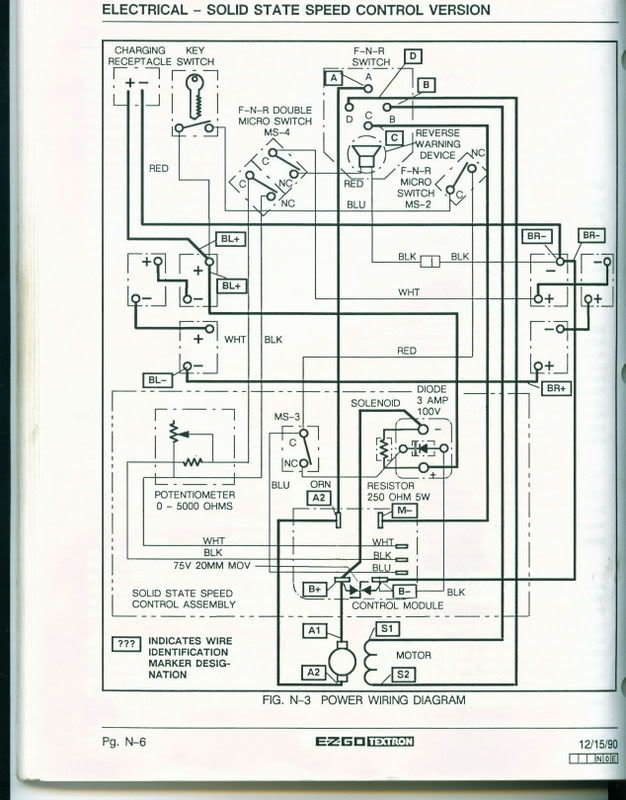 1985 ez go wiring diagram zz 6246  ez wire schematic wiring diagram  zz 6246  ez wire schematic wiring diagram