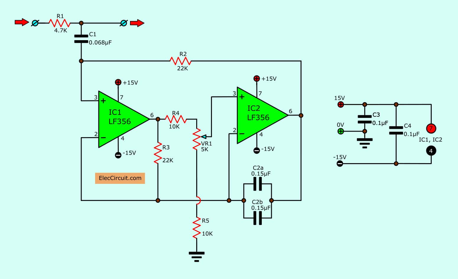 Peachy 15 Filter Circuits Using Electronic Coil Electronics Projects Circuits Wiring Cloud Lukepaidewilluminateatxorg