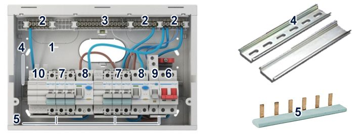 Wylex Split Load Consumer Unit Wiring Diagram