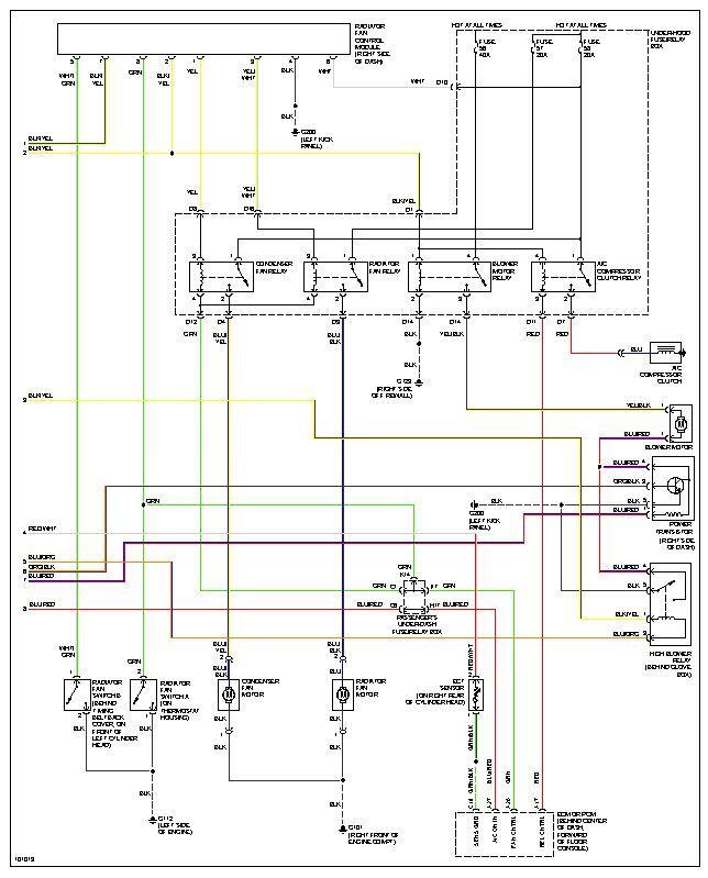 2005 honda accord a c compressor wiring diagram  old gm