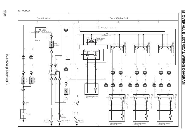 Wiring Diagram Alarm Avanza