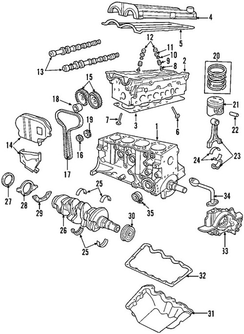 Fabulous Wiring Diagrams Ford Escape 2004 2L Engine Block Component Wiring Cloud Grayisramohammedshrineorg