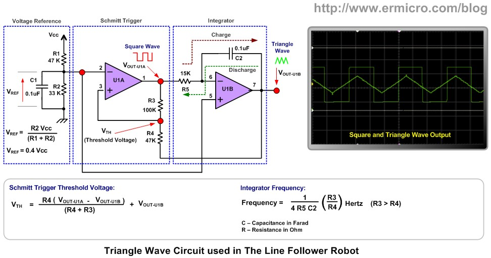 Remarkable The Lm324 Quad Op Amp Line Follower Robot With Pulse Width Wiring Cloud Ostrrenstrafr09Org