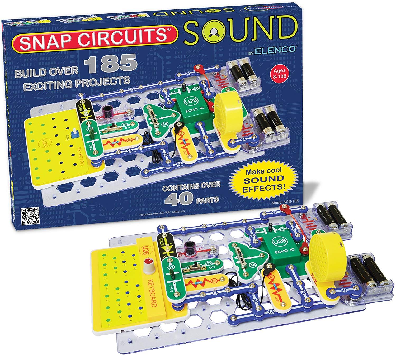 Pleasant Amazon Com Snap Circuits Sound Electronics Exploration Kit 185 Wiring Cloud Picalendutblikvittorg