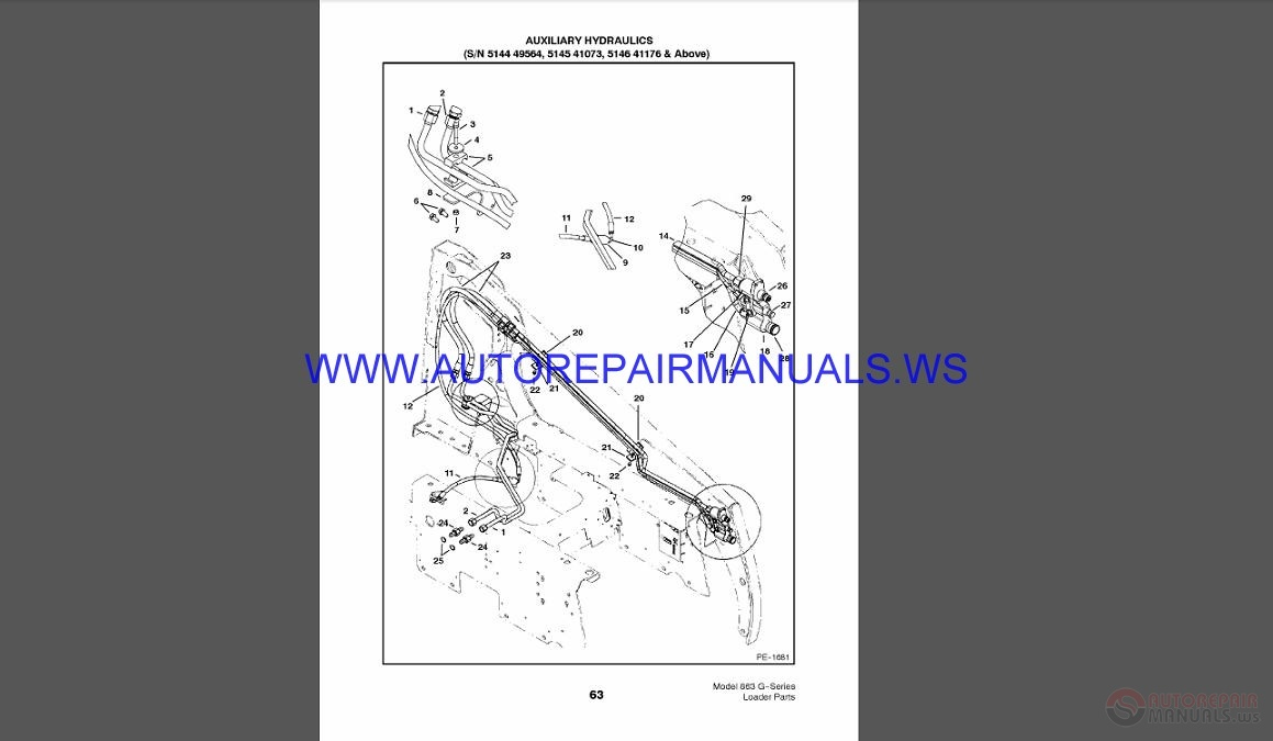 bobcat 863 hydraulic pump diagram kx 6095  bobcat 863 hydraulic pump diagram free diagram  bobcat 863 hydraulic pump diagram free