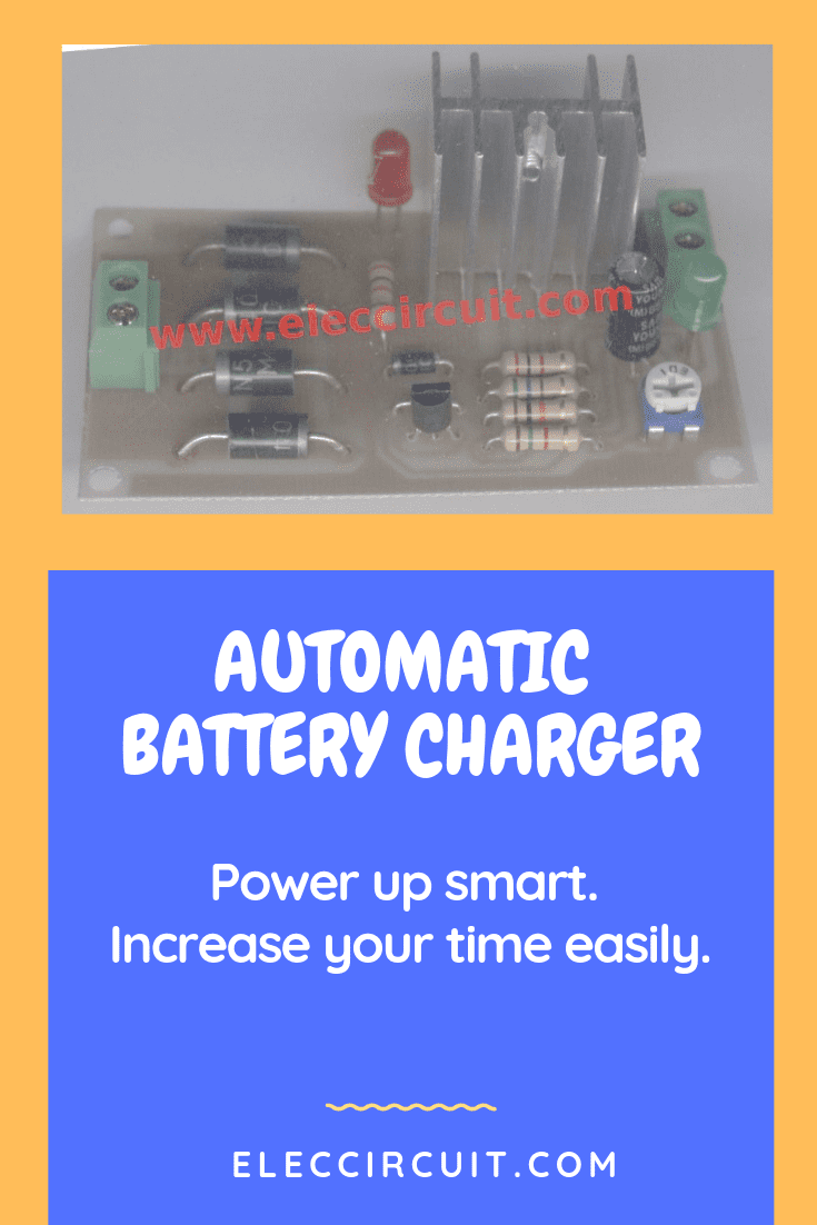 Remarkable Automatic Battery Charger Circuit Projects Eleccircuit Com Wiring Cloud Intelaidewilluminateatxorg