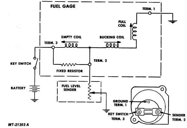 Ht 1320 Fuel Tank Sending Unit Also Fuel Gauge Wiring Diagram Moreover Triumph Download Diagram
