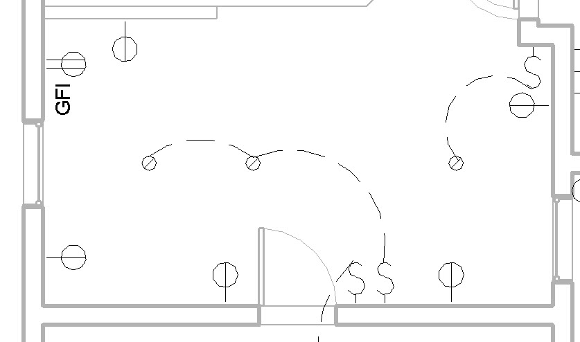 electrical plan light symbol ed 9150  electrical plan in revit  ed 9150  electrical plan in revit
