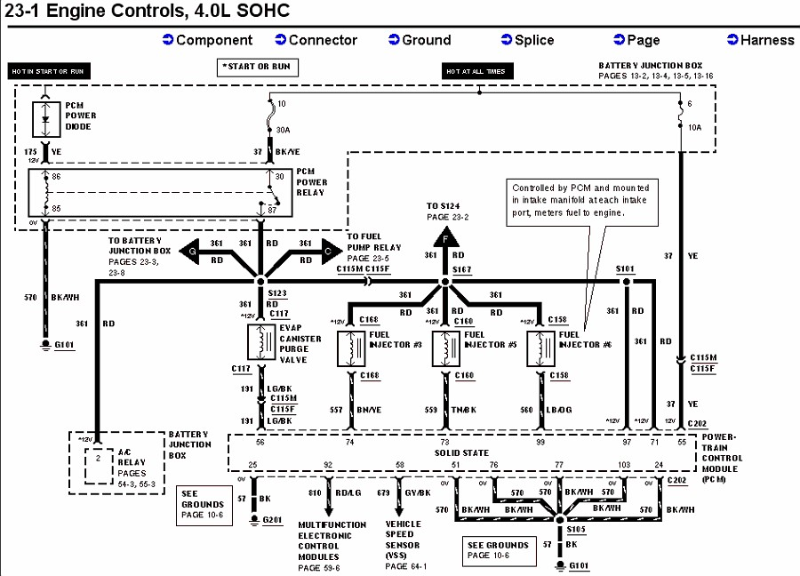 99 Ford Expedition Fuel Pump Wiring Diagram