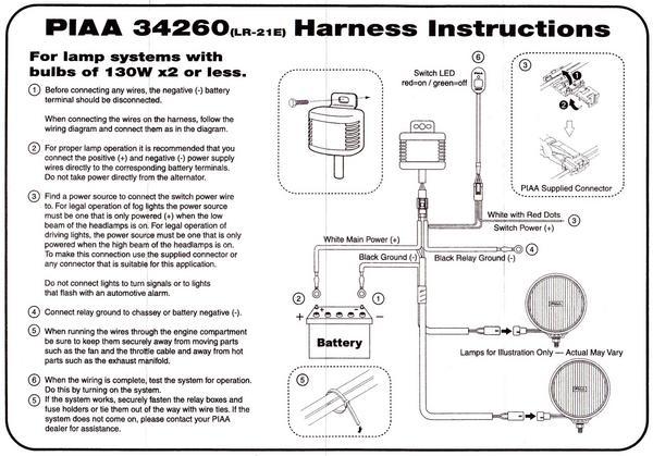 Astonishing Piaa Fog Light Relay Wiring Diagram Basic Electronics Wiring Diagram Wiring Cloud Waroletkolfr09Org