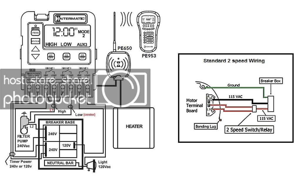 Peachy Intermatic P1353Me With Whisperflo 2 Speed Wiring Please Check If Wiring Cloud Ostrrenstrafr09Org