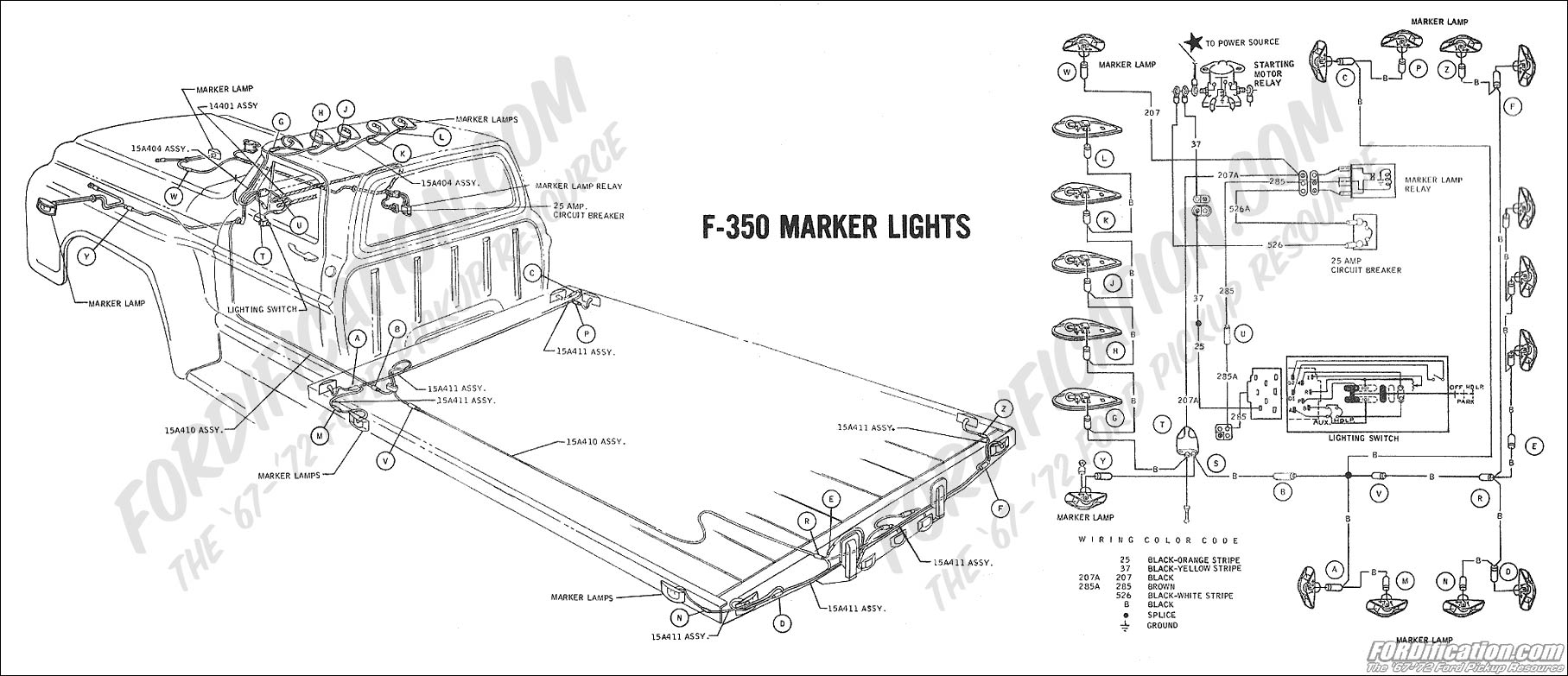 Admirable Ford Truck Technical Drawings And Schematics Section H Wiring Wiring Cloud Vieworaidewilluminateatxorg