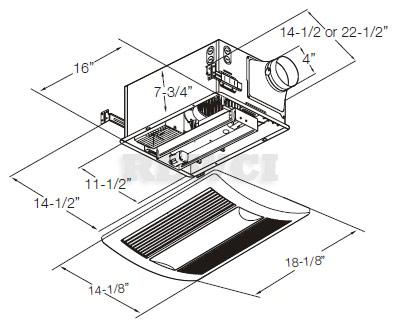 yk0682 bathroom exhaust fan with light wiring diagram