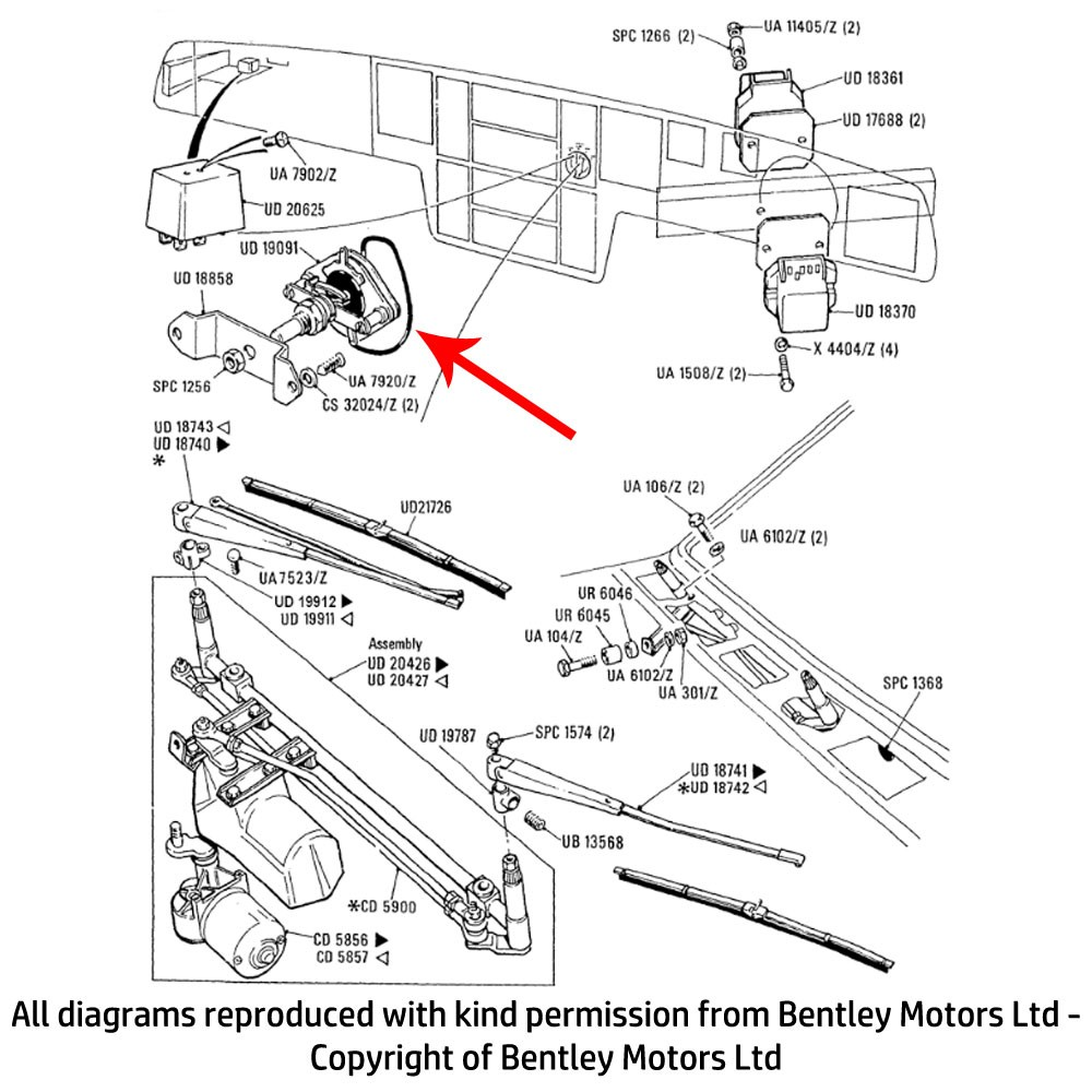 Rolls Royce Corniche Convertible Wiring Diagram