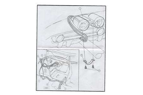 1966 Mustang Rally Pac Wiring Diagram - Wiring Diagram
