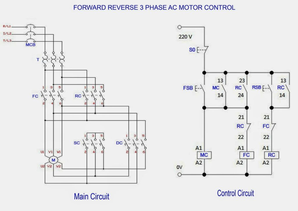 208 Volt 3 Phase Wiring Diagram For