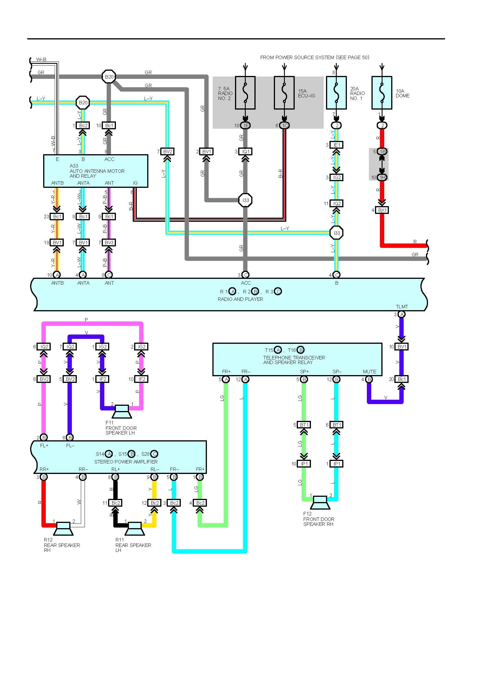 WG_2783] 1990 Lexus Ls400 Radio Circuit And Wiring Diagram Free DiagramIlari Viewor Mohammedshrine Librar Wiring 101