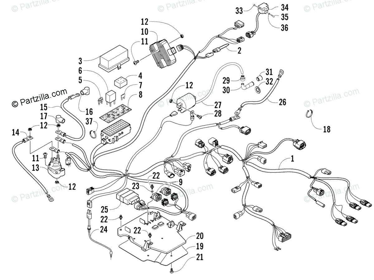 2007 arctic cat 500 atv wiring diagram tf 8084  2007 arctic cat atv wiring diagram schematic wiring  arctic cat atv wiring diagram schematic