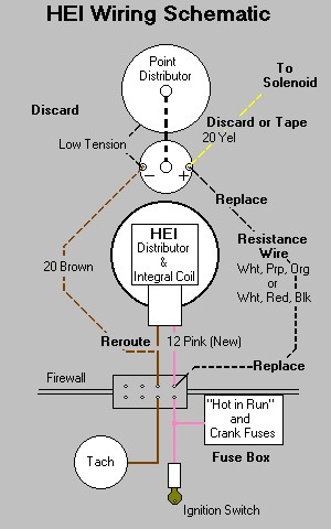 chevy hei distributor wiring diagram tx 6799  chevy hei distributor wiring diagram msd ignition wiring  chevy hei distributor wiring diagram