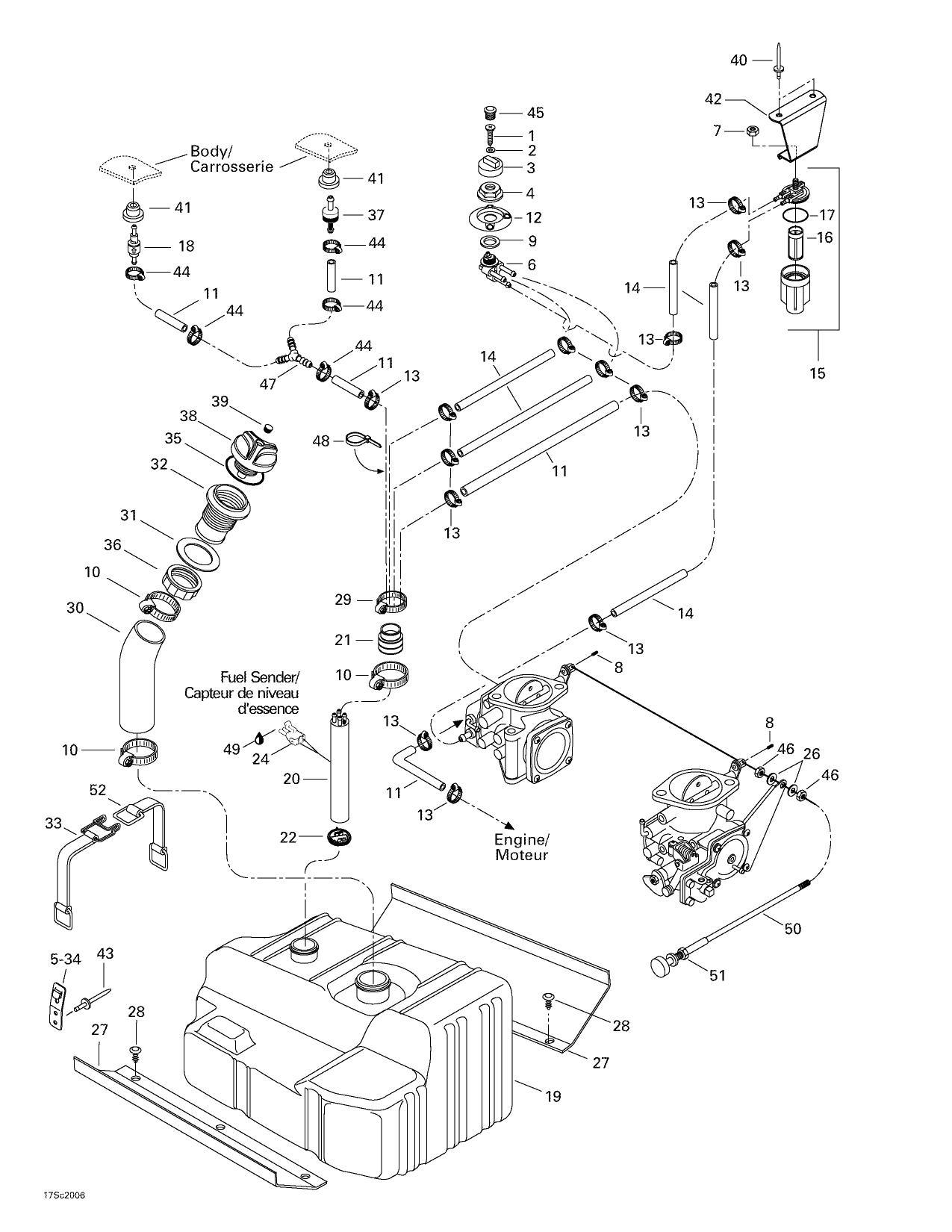 1993 Seadoo Xp Wiring Diagram - Wiring Diagram