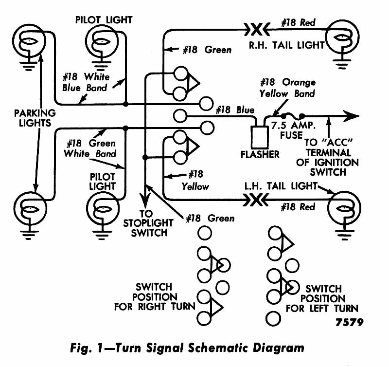 wiring diagram for 79 ford truck to 6558  1957 chevy turn signal wiring diagram also 1967 ford f100  1957 chevy turn signal wiring diagram