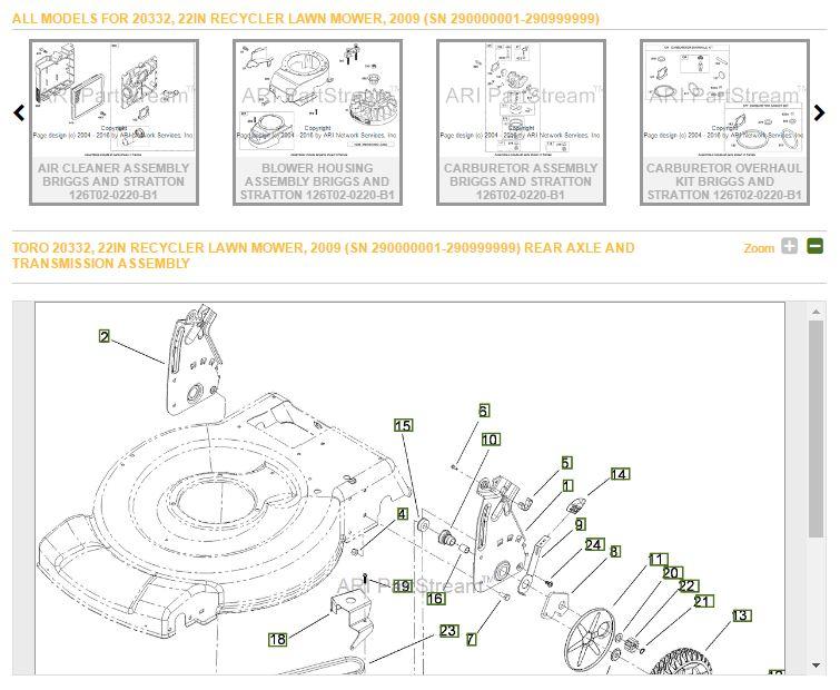 Cx 6105  Toro Recycler Parts Diagram Car Tuning Schematic