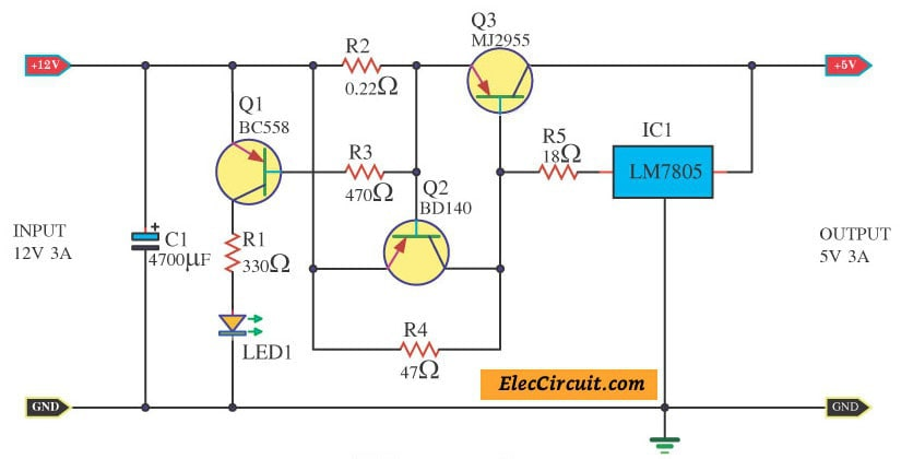 Super 12V To 5V Converter Step Down Dc Regulator In Many Ways To Do Wiring Cloud Biosomenaidewilluminateatxorg