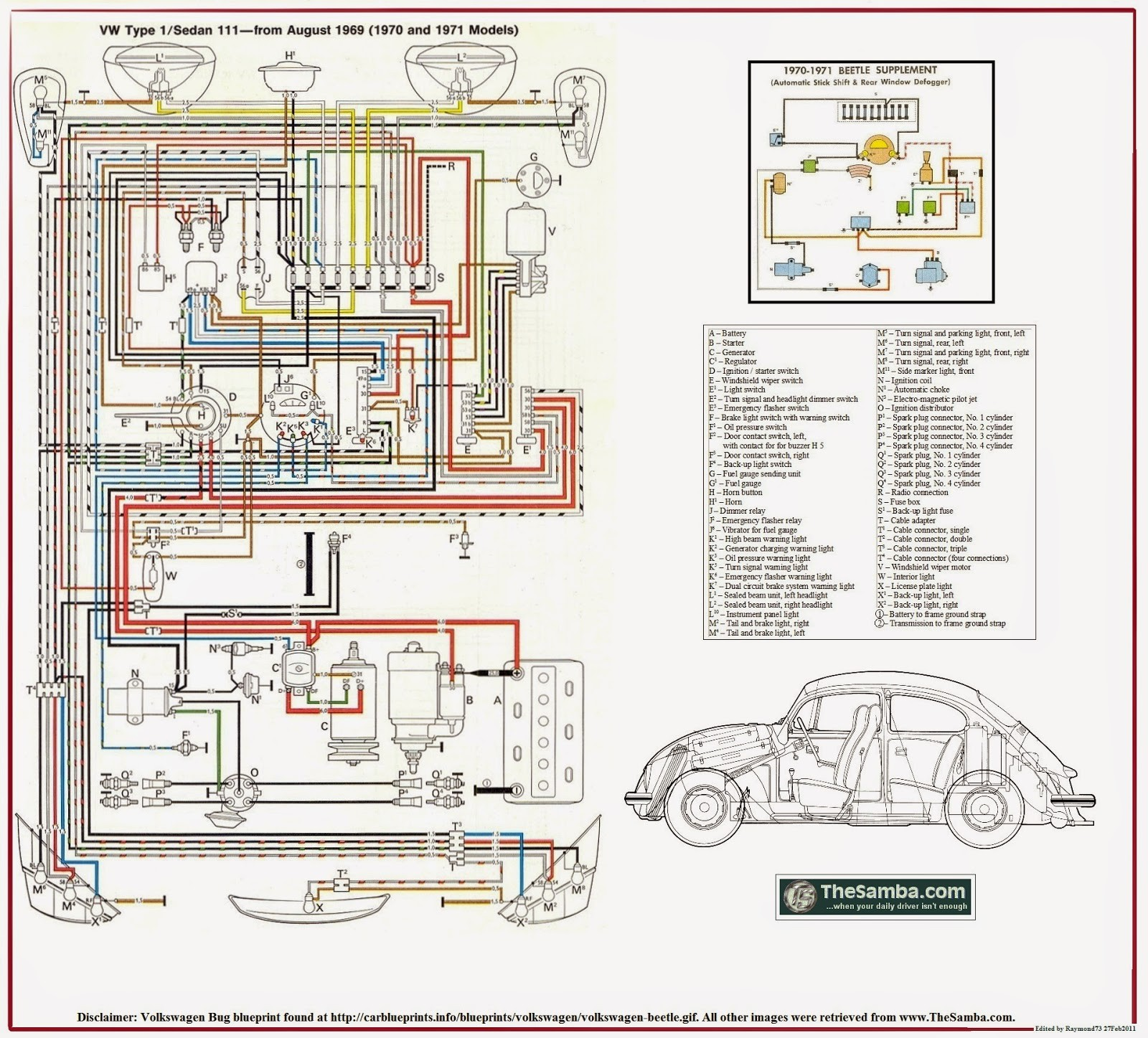 kc_0426] 1971 vw super beetle ignition switch wiring diagram  www mohammedshrine librar wiring 101