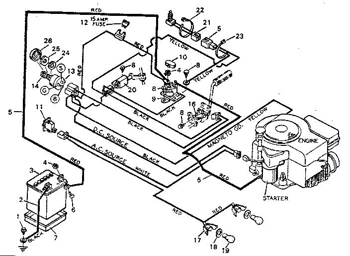 Prime Diagram Parts List For Model 502254280 Craftsmanparts Ridingmower Wiring Cloud Picalendutblikvittorg