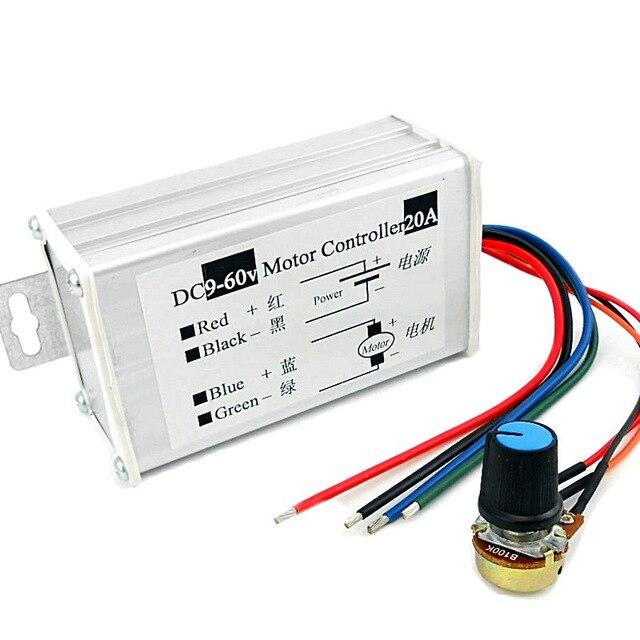 DC 6V-24V 12V 18V 8A PWM DC Motor Speed Controller Digital Display On//off Switch