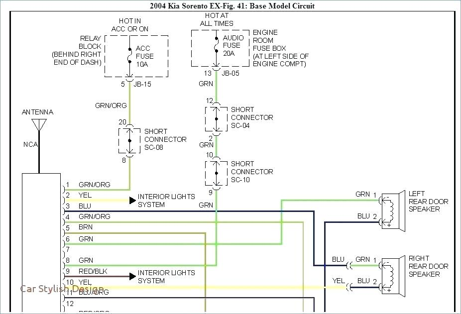 2004 Hyundai Santa Fe Monsoon Wiring Diagram