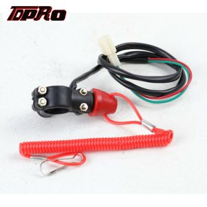 Kill Off Switch For 50 70cc 90cc 110cc 125cc 140cc 150cc 160cc Engine Pit Dirt Bike AC CDI box TC-Motor Racing Ignition Coil Wiring Loom Harness