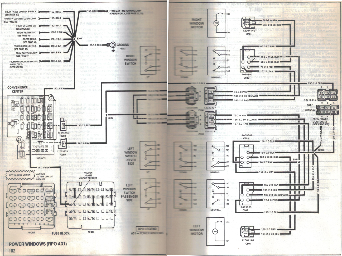 1995 S10 Stereo Wiring Diagram
