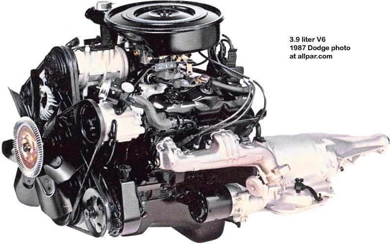 Amazing The 3 9 Liter La Series Dodge V6 Engine Wiring Cloud Hemtegremohammedshrineorg