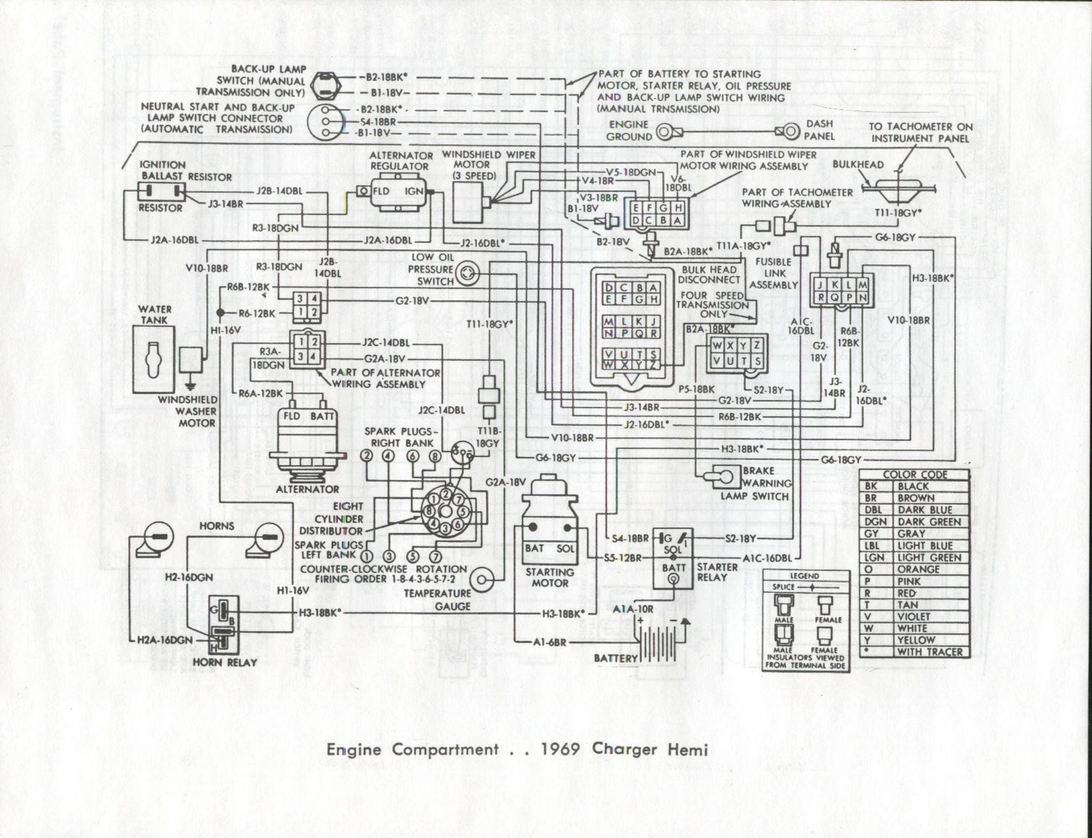 Cb 7064 69 Charger Fuse Box Wiring Diagram