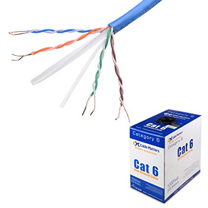 Enjoyable Amazon Com Ul Listed Cable Matters In Wall Rated Cm Bare Copper Wiring Cloud Monangrecoveryedborg
