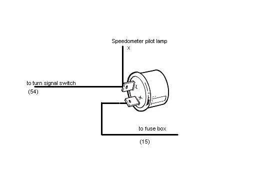 Flasher Unit Wiring Diagram 2 Pin