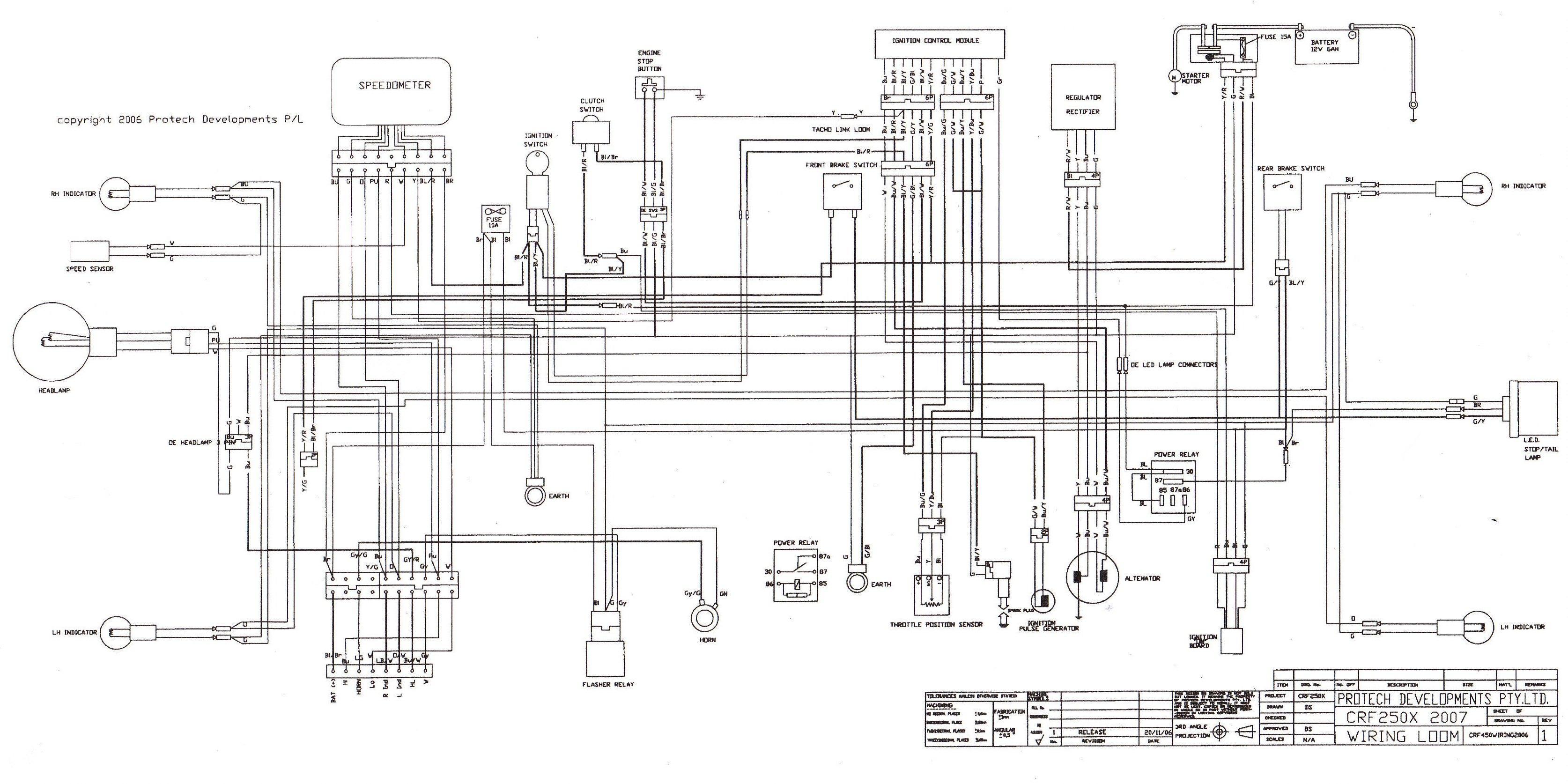 crf230l wiring diagram ge 1456  wiring diagram dirt bike wiring diagram 2015 crf450x  dirt bike wiring diagram 2015 crf450x