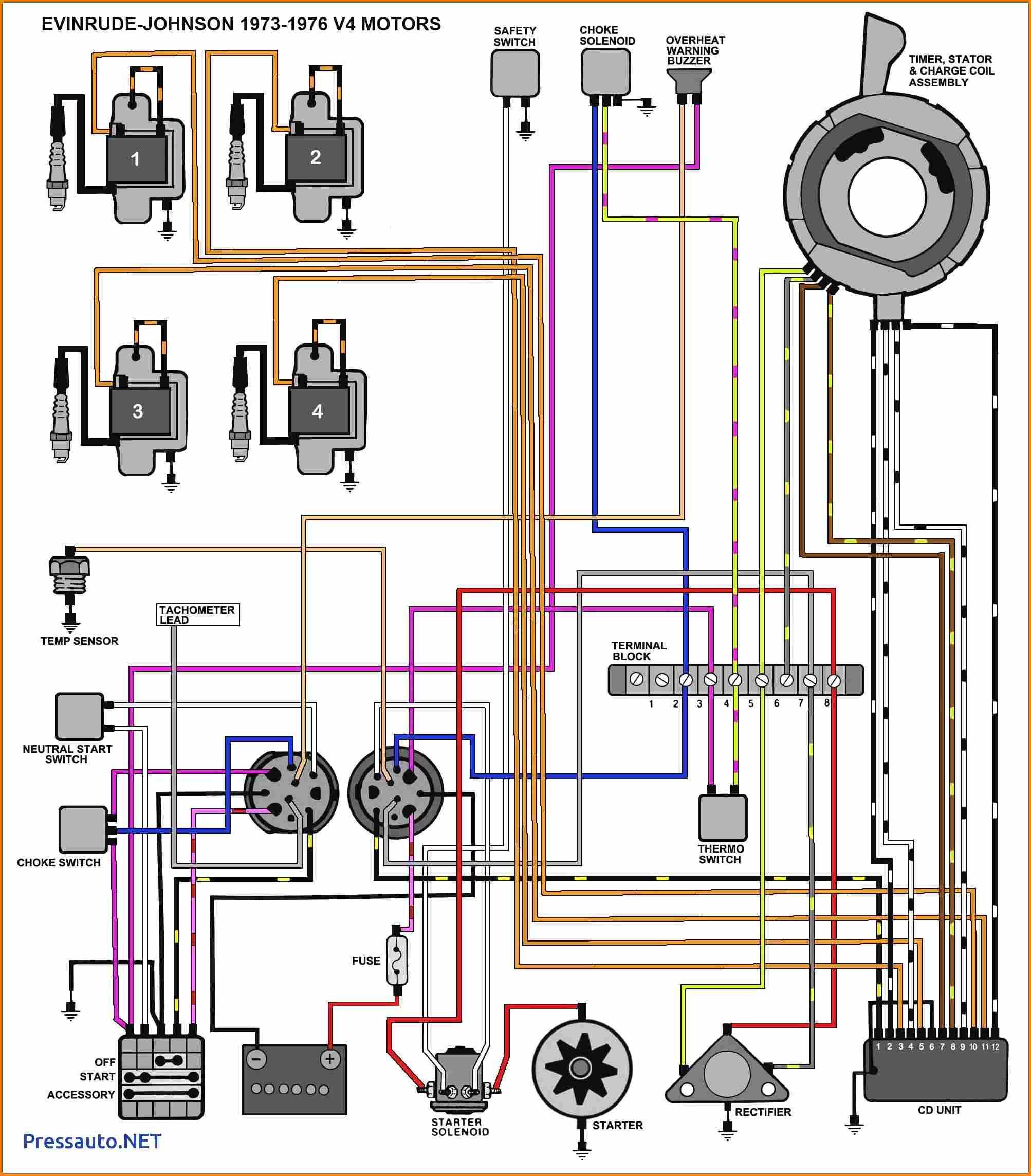 1990 Evinrude 70 Hp Wiring Diagram