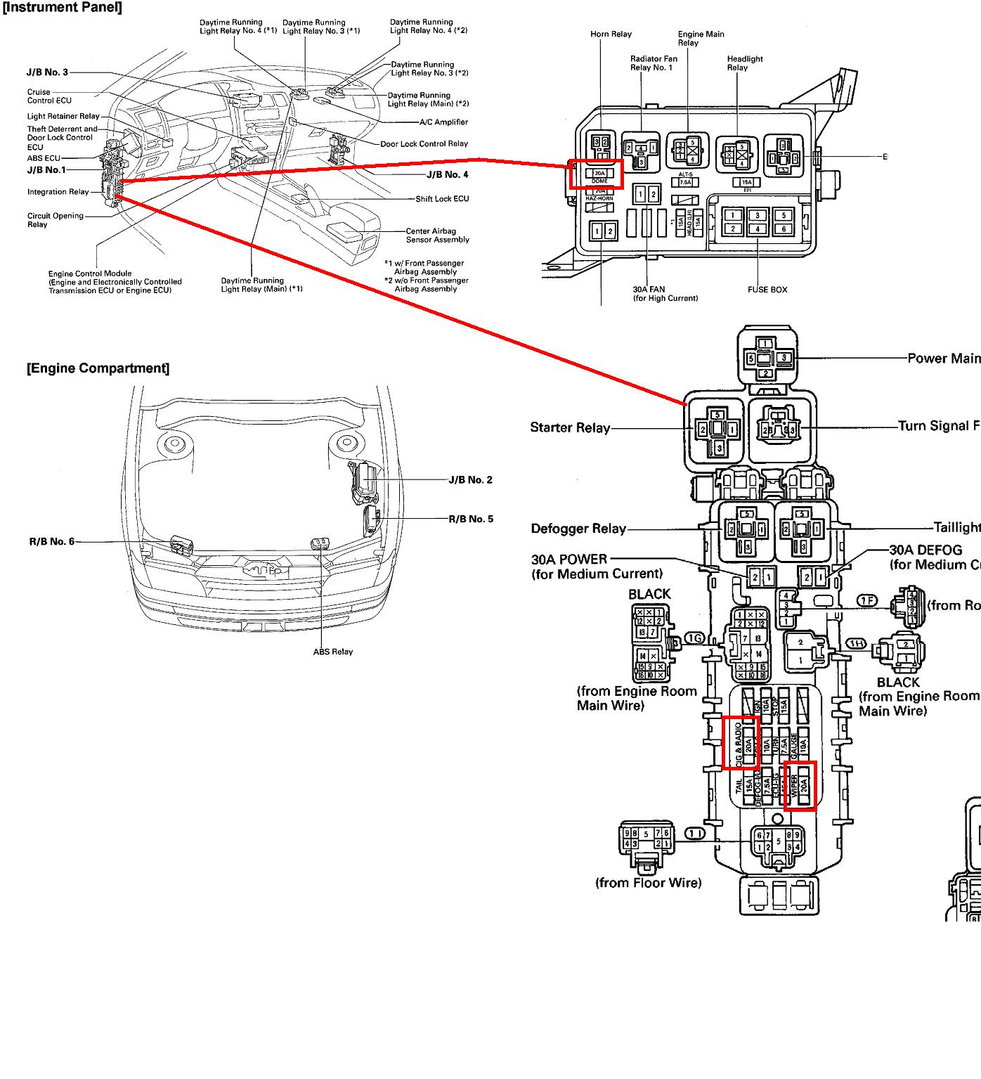 Wondrous 2002 Toyota Rav4 Fuse Box Basic Electronics Wiring Diagram Wiring Cloud Dulfrecoveryedborg