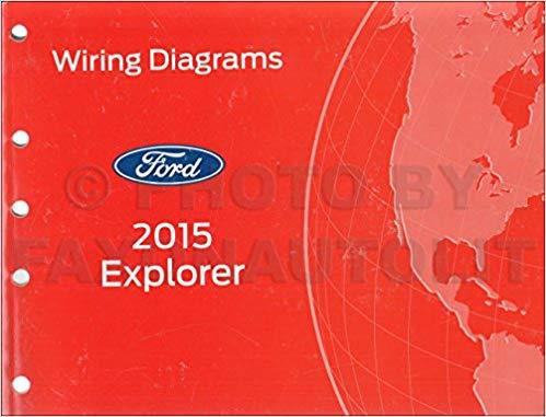 Cool 2015 Ford Explorer Wiring Diagram Manual Original Ford Amazon Com Wiring Cloud Cranvenetmohammedshrineorg