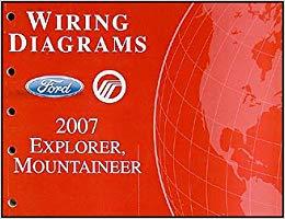 Remarkable 2007 Ford Explorer Mercury Mountaineer Wiring Diagrams Ford Motor Wiring Cloud Cranvenetmohammedshrineorg