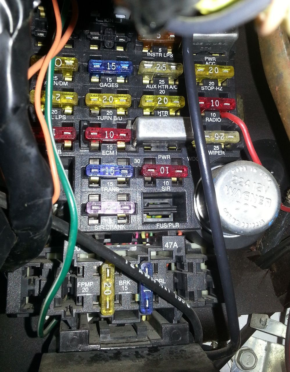Tremendous 1995 Chevrolet Van Fuse Box Location Wiring Diagram Data Wiring Cloud Intelaidewilluminateatxorg