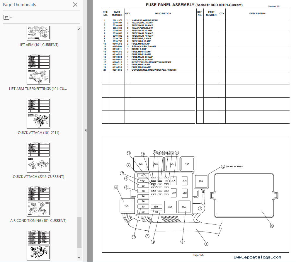 Magnificent Asv Rc 100 Fuse Box Diagram Wiring Diagram Data Schema Wiring Cloud Hemtshollocom