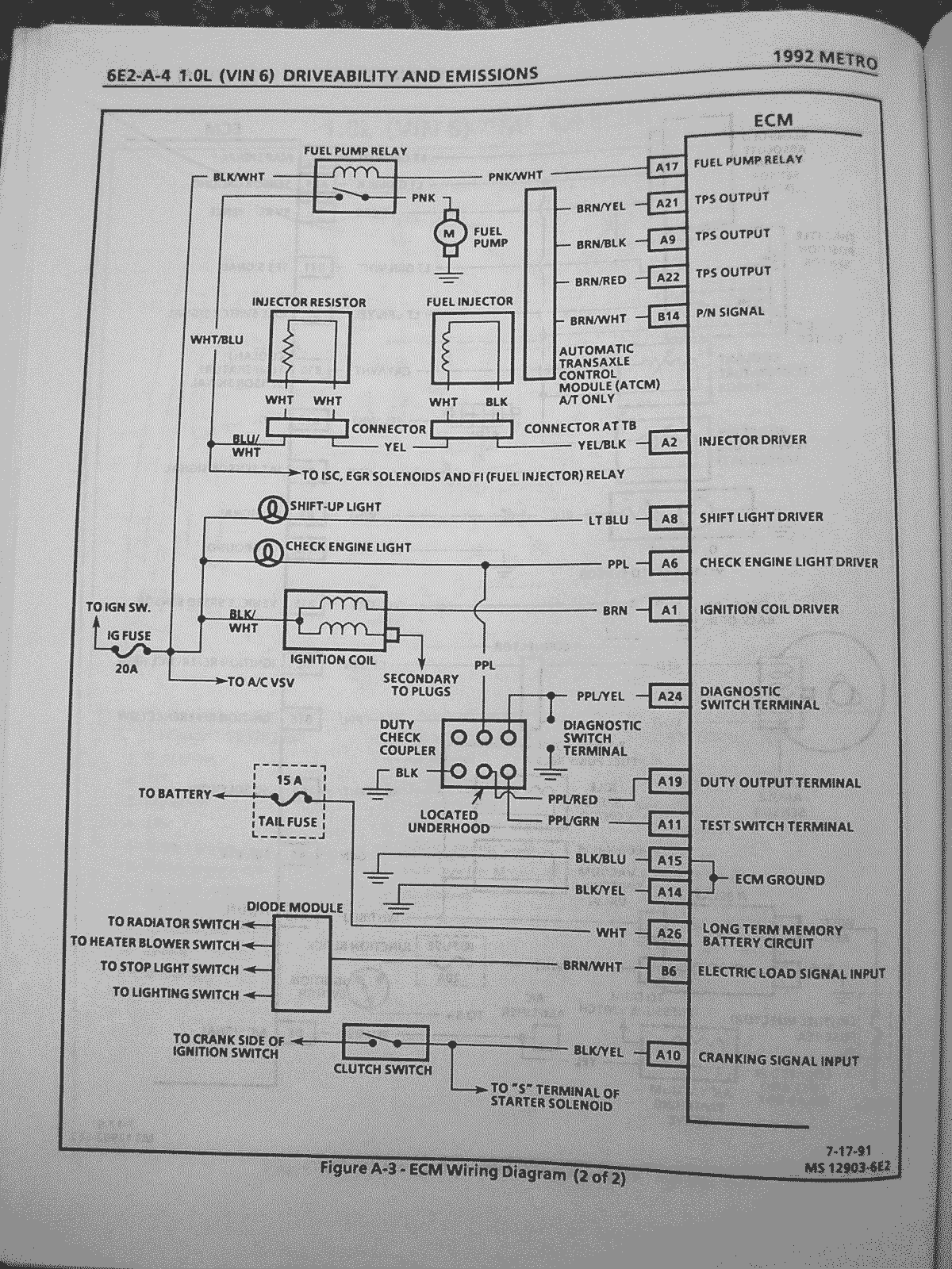 1995 Geo Prizm Fuse Box - Saturn Car Stereo Wiring Diagram for Wiring  Diagram SchematicsWiring Diagram Schematics