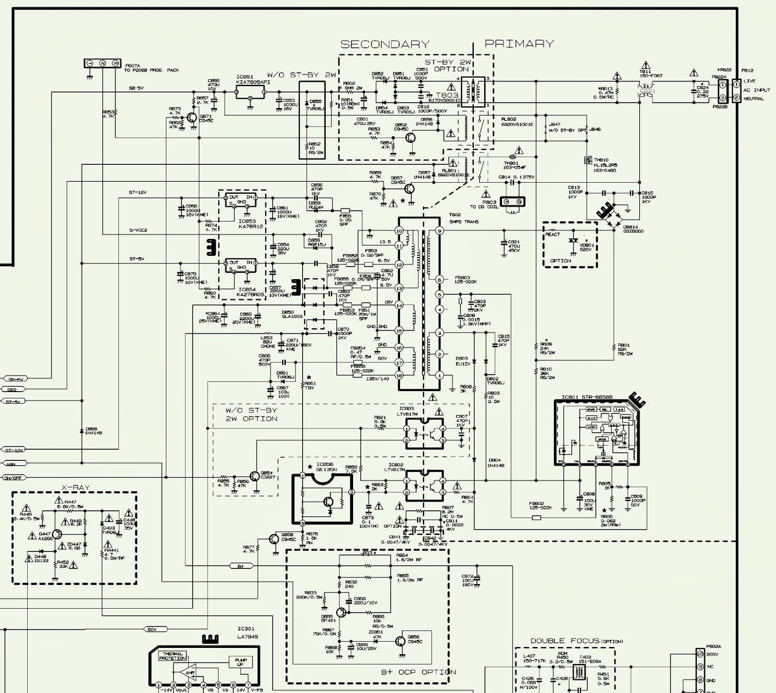Toshiba Tv Wiring Diagram